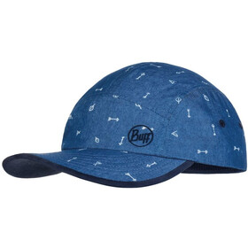 Buff 5 Panel Cap Kids, arrows denim